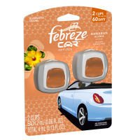 Febreze Car Auto Vent Clips - 2 Air Freshener Clips ~ Hawaiian Aloha by PROCTER & GAMBLE