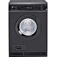 White Knight C96AB 7kg Sensing Condensor Dryer in Black