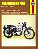 Triumph 5T Speed Twin 6T Thunderbird 1947-1962 Haynes Manual