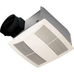 NuTone Premier Ultra Silent Ceiling Exhaust Bath Fan, Sound Level 1.5 SONES, 130 CFM (Air Movement) ENERGY STAR