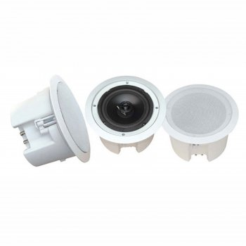 Pyle 8'' In-Ceiling 2-Way Flush Mount Enclosure Speaker System