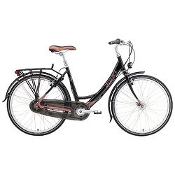 Breezer Uptown Infinity Ladies (Step-Through) Complete Bike Black Satin / Copper