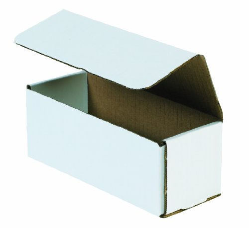 "Aviditi M944 Corrugated Mailer, 9"" Length x 4"" Width x 4"" Height, Oyster White (Bundle of 50)"