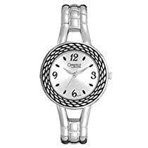 Ladies' Caravelle by Bulova Watch with Silver Dial (Model: 43L143) bulova