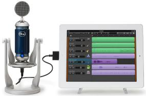 Blue Microphone Spark Digital Studio-Grade Microphone for both iPad and USB
