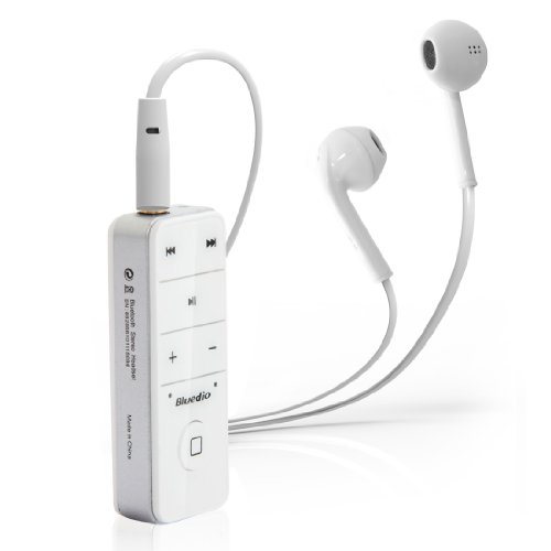 Bluedio I4S Bluetooth Stereo Headset/Wireless Cell Phone Headsets (White)