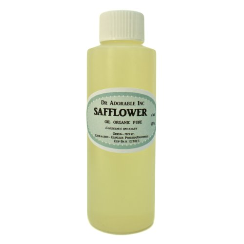 Safflower Oil High Oleic Organic 100% Pure 4 Oz front-861710