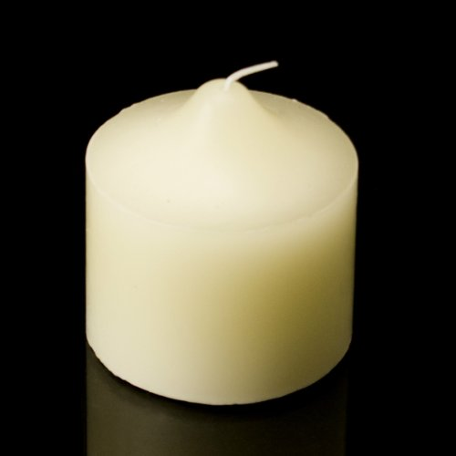 Hanna's 3x3 Pillar Candle (Ivory Unscented) - 3x3-Unscented