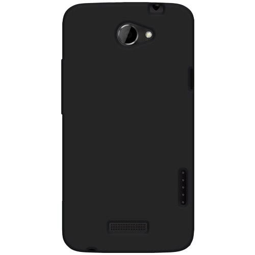 Sale!! Amzer AMZ93804 Silicone Jelly Skin Fit Case Cover for HTC One X - Retail Packaging - Black