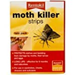 Moth Killer Strips/ Twin Pack by RENT...