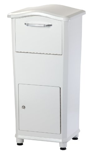 Architectural-Mailboxes-6900W-Elephantrunk-Parcel-Drop-Box-White
