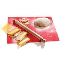 Imperia Foglio Chef 100% Food Grade Multi Purpose Silicon Pastry Mat Red