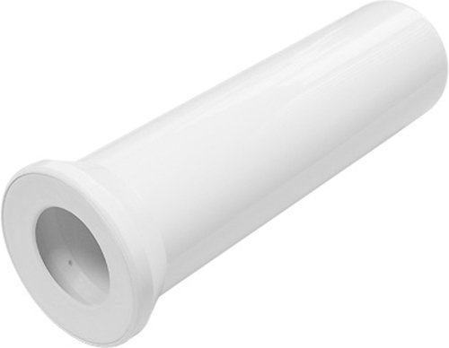 Anschlussrohr für Stand WC | Weiß | 400 mm | WC, Toilette