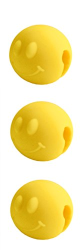Tovolo Pot Lid Lifts, Smiley - Set of 3, Yellow (Smiley Pan compare prices)