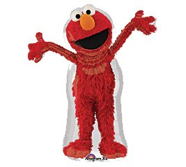 Costumes 205056 Elmo Shaped Foil Balloon