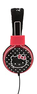 Hello Kitty Foldable Plush Headphones (35009)