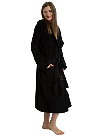 708aad9fd3 TowelSelections Turkish Cotton Hooded Bathrobe Terry Velour Robe Made in  Turkey