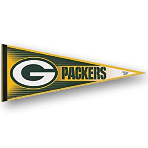 Green Bay Packers Official Logo Felt Pennant by Wincraft