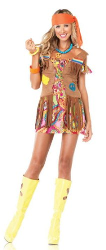 Leg Avenue Women's Love Child Hippie Costume