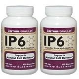 【2個セット】 [海外直送品]Jarrow Formulas IP6(米ぬか抽出フィチン酸) 500mg 120粒 IP6 Inositol Hexap...