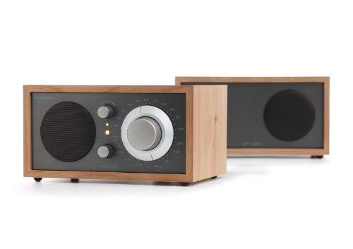 Tivoli Audio Model Two Am/Fm Table Radio With Stereo Speaker, Cherry/Metallic Taupe