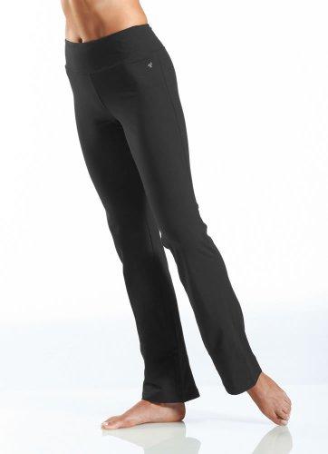 Jockey Women's Slim Bootleg Pant, Deep Black, Large (Womens Casual Pants compare prices)