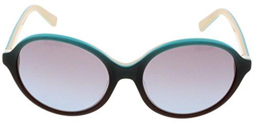 Just Cavalli JC 557S/S 86F Brown/Turquoise Round Sunglasses