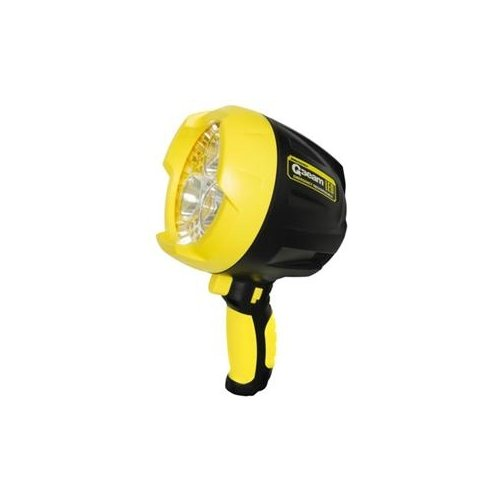 Brinkmann 800-5003-0 / Brinkmann Q-Beam Led Lithium Rechargeable Spotlight With Yellow Flashing Leds.