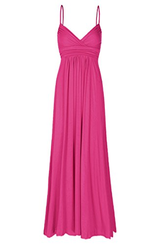 Beachcoco Women's Sweetheart Maxi Dress (L, Hot Pink) (Hot Pink Maxi Dress compare prices)