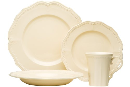 Red Vanilla Classic Toffee 16-Piece Dinnerware Set