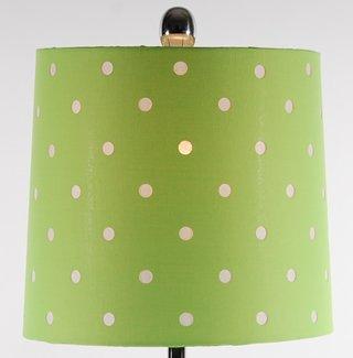 Green Clear Lamp Table Balls Polka Dot Lamp Shades Shade Polka