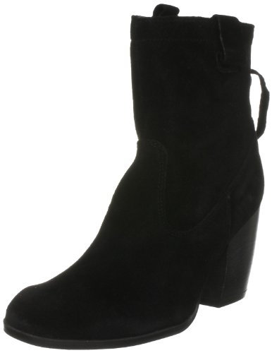 French Connection Women's Ripley Sfbi6 Black Ankle Boots 2455200209 8 UK
