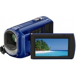 Sony DCR-SX41 Flash Camcorder w/60x Optical Zoom (Blue)