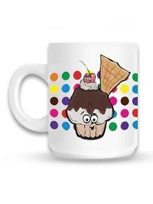 Yummy-Chums-Chon-Cherry-Cupcake-White-Mug