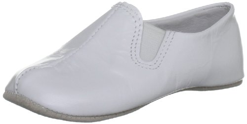 Rachel Riley Elastiques White Slipper Rrshoe2apl 4 UK Toddler