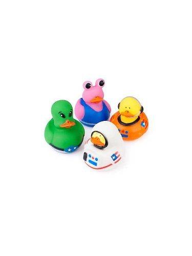 Fun Express 12 Astronaut Space Alien Rubber Ducks
