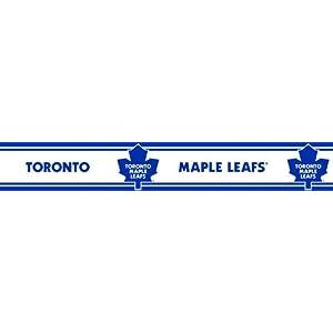 Nhl Toronto Maple Leafs Self Stick Hockey Wall Border Roll