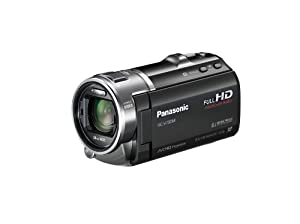 Panasonic HCV700M 3D Full HD 28mm Wide Angle SD Camcorder with 16GB Internal Memory (Black)