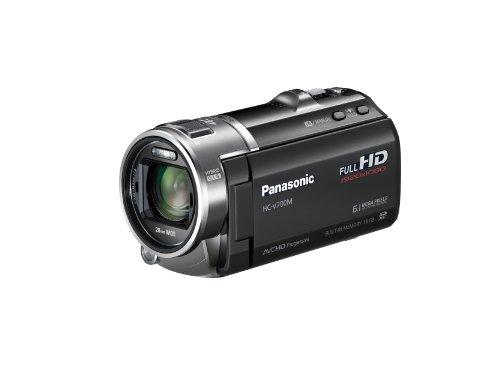 Panasonic HC-V700MK 3D Full HD 28mm Wide Angle Camcorder with 16GB Internal Memory (Black)
