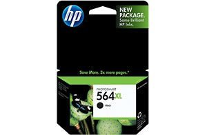 HP 564XL CN684WN#140 Ink Cartridge in Retail Packaging-Black