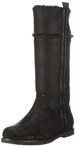 Emu Australia Womens Mckenzie Biker Boots W10707 Black 8 UK, 42 EU, Regular