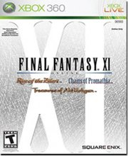 Final Fantasy XI : Online - Chains of Promathia, Rise Of The Zilart, Treasures of Aht Urhgan (Xbox 360)
