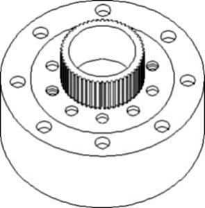Amazon.com: New Planetary Ring Gear L79729 Fits JD 410D, 410E, 410G ...
