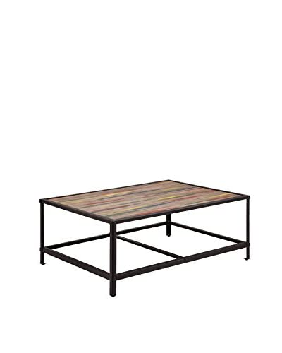 Zuo Modern Sawyer Coffee Table, Multicolor Distressed Natural