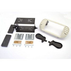 Kit 2DIN Fiat 500 - Gris Pearl