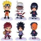 Generic Naruto Figures Set (6 Piece), 2.5