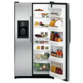 GE GSH22JSDSS 21.9 Cu. Ft. Stainless Steel Side-By-Side Refrigerator