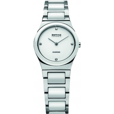 Bering Diamond Collection 32230-704 Wristwatch for Her with genuine diamonds