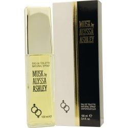 ALYSSA ASHLEY MUSK by Alyssa Ashley EDT SPRAY 1.7 OZ for WOMEN ---(Package Of 5)