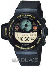 Casio Men's Prayer Compass Watch CPW310-1